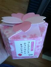 9 pic Scented Sakura Fragrance Tealight Candles Soy Wax Candle Japanese gift box