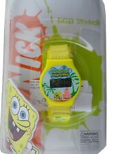 Nickeledeon Spongebob + Patrick LCD Digital Display Watch (STYLES VARY)-NEW!