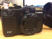 Canon PowerShot G12 10.0MP Digital Camera - Black