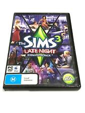 The SIMS 3 LATE NIGHT Expansion Pack (Pre - Owned) PC CD/ ROM Free Shipping.