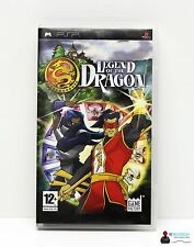 PLAYSTATION PORTABLE PSP GIOCO-Legend of the Dragon-completamente in guscio OVP