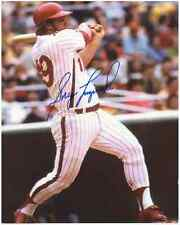 "Greg Luzinski Autographed Philadelphia Phillies 8"" x 10"" Photo w/COA Cert."