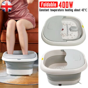 Electric Foot Spa Bath Massager Collapsible Heating Infrared Pedicure Feet Tub