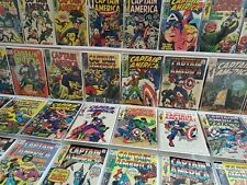 Captain America #100-142 Full Run Lot 117 1st Falcon Original Owner Stan Lee