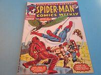 Spider-man Comics Weekly. Marvel UK Edition. No 63, April 1974, Good Condition