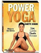 "Jeanette Jenkins The Hollywood Trainer ""Power Yoga"" DVD (2012) BRAND NEW"