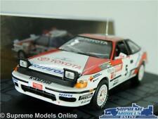 TOYOTA CELICA GT-4 MODEL RALLY CAR 1:43 SCALE 1991 IXO SCHWARZ HERTZ CATALUNYA K