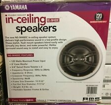 "Yamaha NS-IW480CWH In-Ceiling 8"" Natural Sound Three-Way Speaker (One Pair)"