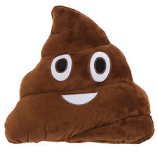 Poop Emoji Novelty Emotive Cushion