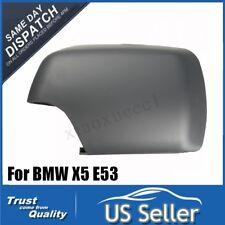 Gauche Auto Miroir Coque Couvercle Rétroviseur Pour 00-06 BMW E53 X5 51168256321