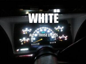 10 WHITE T10 LED INSTRUMENT PANEL CLUSTER DASH LIGHT BULB PC168 PC194