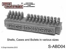 Zinge Industries Bullets Shells and Spent Casings Two Sets of 45 Rounds S-abd04