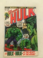 INCREDIBLE HULK #156 NM 9.4 EARLY HULK WITH BRUCE BANNER'S BRIAN