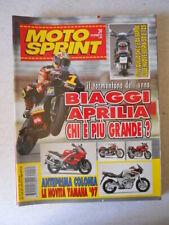 MOTOSPRINT n°39 1996 Biaggi Aprilia chi è il piu grande [MS9D]
