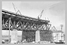 SYDNEY Harbour Bridge Construct 1st of 7 views 'Approach'  modern Postcard