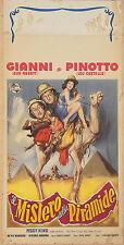 LOCANDINA, IL MISTERO DELLA PIARAMIDE Abbott and Costello Meet the Mummy POSTER
