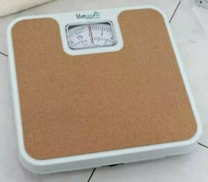 DURABLE CORK MECHANICAL BATHROOM WEIGHING SCALES BLUE CANYON HOME STONE KG