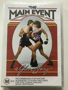 THE MAIN EVENT: A GLOVE STORY (1979 MOVIE - DVD SEALED + FREE POST)