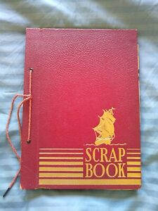 Scrap Book Of Vintage Magazine Cartoons