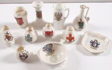 11 x Grafton Arcadian Crested Porcelle WR & S China Burford Birmingham Lincoln