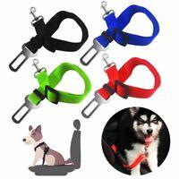 Seatbelt Leash Adjustable Dog Pet Car Safety Belt Harness Collar Restraint Lead