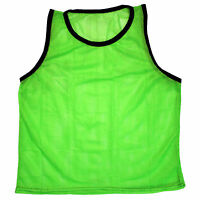 NEW SCRIMMAGE PRACTICE VESTS PINNIES SOCCER YOUTH GREEN