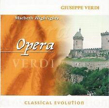 Giuseppe Verdi - Macbeth - Highlights - CD -