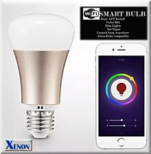 WiFi Smart LED Light Bulb Works With APP& Amazon Alexa(Sft White+Color Changing)