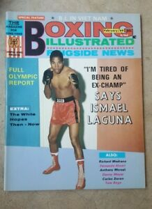 Vintage Boxing Illustrated + Ringside News Magazine: Feb. 1969. Ismael Laguna.