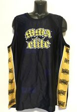 MMA Elite Men's Tank Top Shirt, Navy Blue, Polyester - XL, EUC