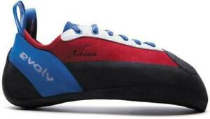 EVOLV Ashima Climbing Shoes - Men's Size US 7 - Red/White/Blue