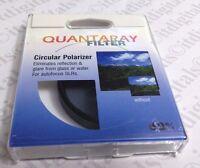 Japan Made 62mm CIRCULAR POLARIZER Lens FILTER CPL 62 mm PL-CIR Quantaray Japan