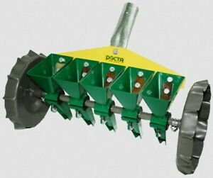 Original product 4-row manual precision planter for small vegetable seeds