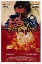 MAN ON FIRE Movie POSTER 27x40 B Scott Glenn Brooke Adams Danny Aiello Joe Pesci