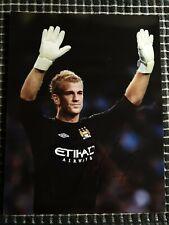 "Joe Hart - Personally Hand Signed Manchester City 10"" x 8"" Photograph"