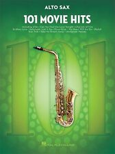 101 film hits pour alto saxophone play pop rock chart film chansons sax music book