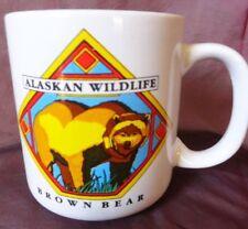 Alaskan Wildlife Black Bear Coffee mug cup souvenir