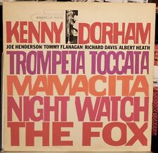 KENNY DORHAM TRUMPET TOCCATA BLUE NOTE 4181 MONO NEW YORK USA LP CLEAN!
