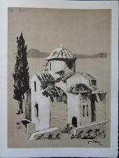 Victor VIKO - Belles églises   - 2 gravures signées #322ex + justificatif