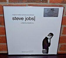 STEVE JOBS - Soundtrack O.S.T. LTD Import 180 Gram 2XLP WHITE VINYL Gatefold NEW