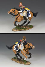 King and Country Napoleonic Cuirassier Charging Sans Helmet NA254