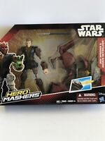 Star Wars Hero Mashers Jedi Speeder & Anakin Skywalker Action Figure HASBRO NEW