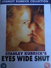 Tom Cruise Nicole Kidman EYES WIDE SHUT ~ 1999 Stanley Kubrick Drama | UK DVD