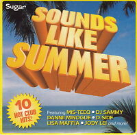 Compilation CD Sugar - Sounds Like Summer - Promo (EX/EX)