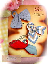Vintage 50s Knitting Pattern 3 Styles Of Prettily Designed Scarves NO UK P&P!