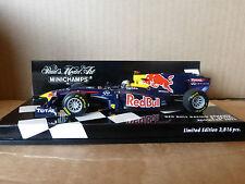 Minichamps 1:43 Sebastian Vettel Red Bull racing car F1 2011