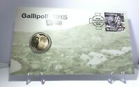 2015 $1 UNC PNC Gallipoli 1915 Centenary of WWI Limited Collectable