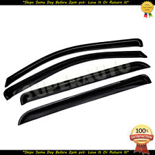 For 2014-2018 Chevrolet Silverado 1500 CrewCab Smoke Vent Guards Window Visors