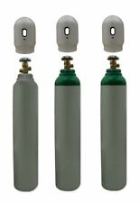 One CO2 Gas Bottle Cylinder New Full! 1.8m3 8L 5kg 40~60 Bar Free UK Delivery!