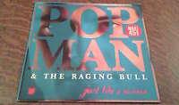 Maxi 45 tours Popman - the raging bull just like a woman